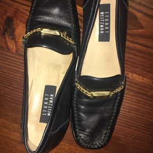 Vintage Stuart Weitzman 80's Leather Loafers